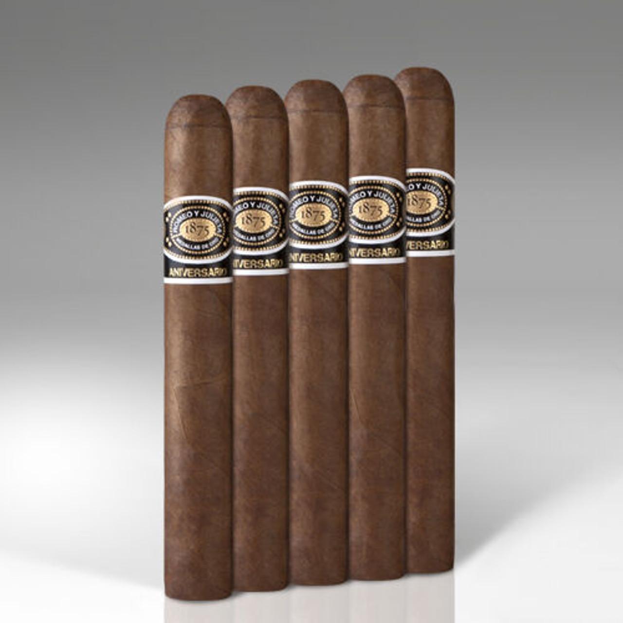 Romeo y Julieta Aniversario Toro Cigars - 6 x 54 (Pack of 5)