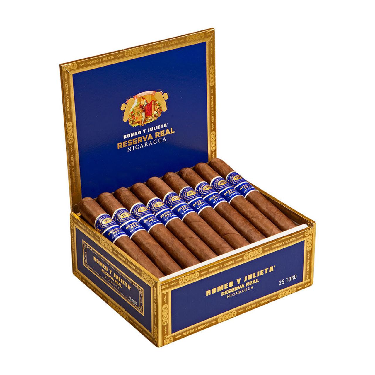 Romeo y Julieta Reserva Real Nicaragua Churchill Cigars - 7 x 50 (Box of 25)