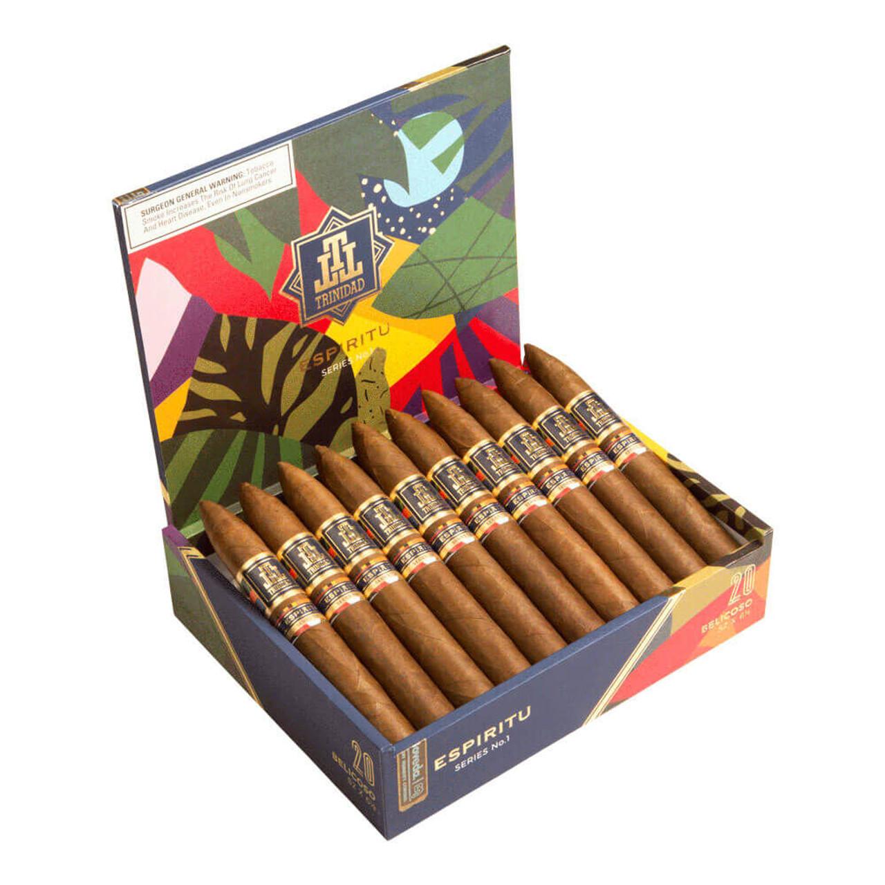 Trinidad Espiritu Belicoso Cigars - 6.12 x 52 (Box of 20)