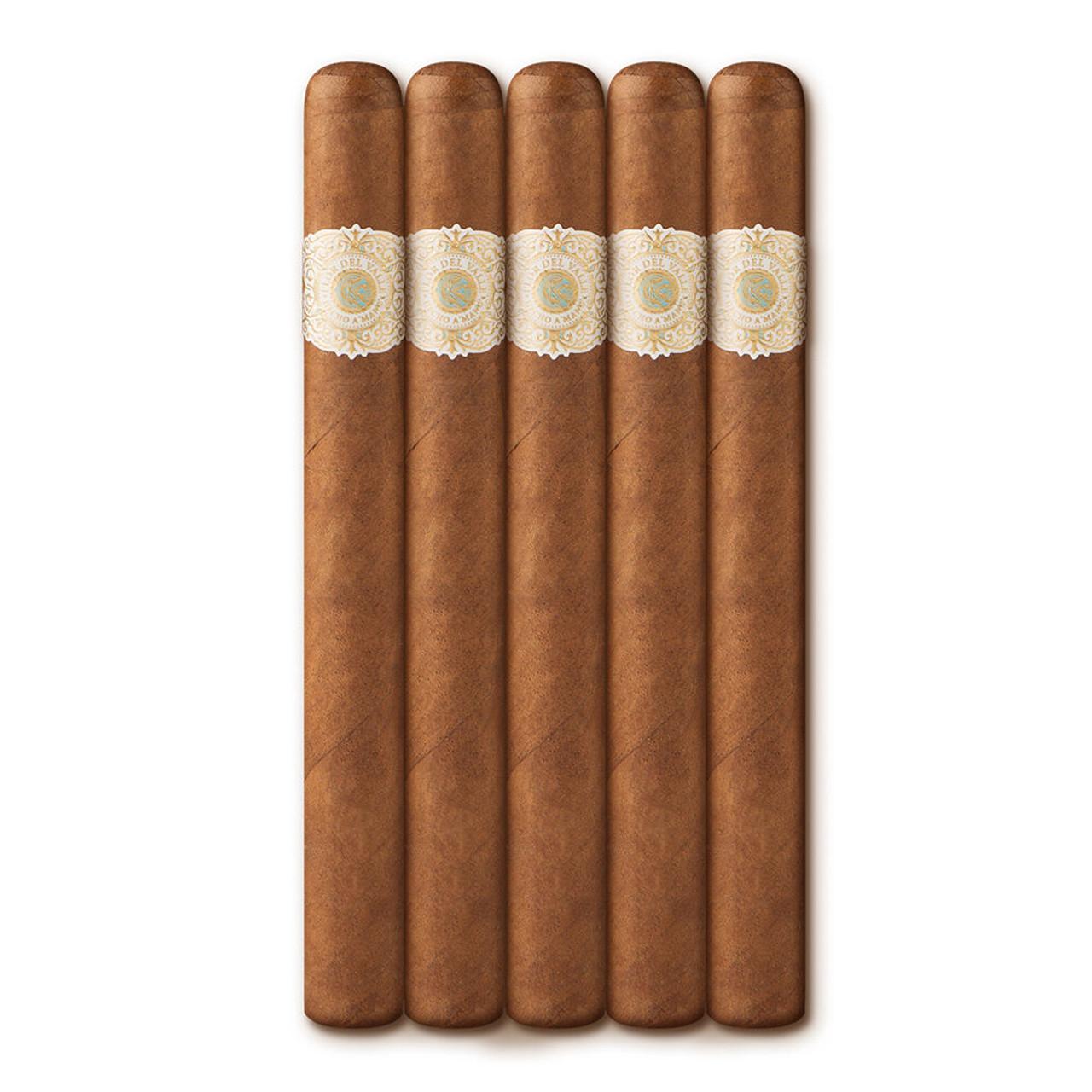 Warped Flor del Valle Cristales Cigars - 6 x 42 (Pack of 5)