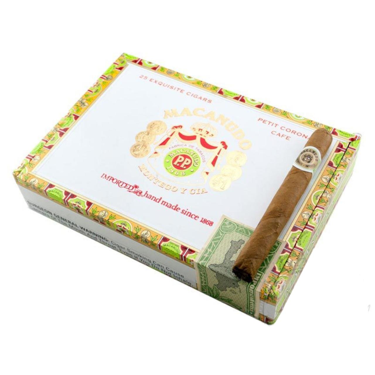 DISCOUNT Macanudo Petit Corona Cigars - 5 x 38 (Box of 25)