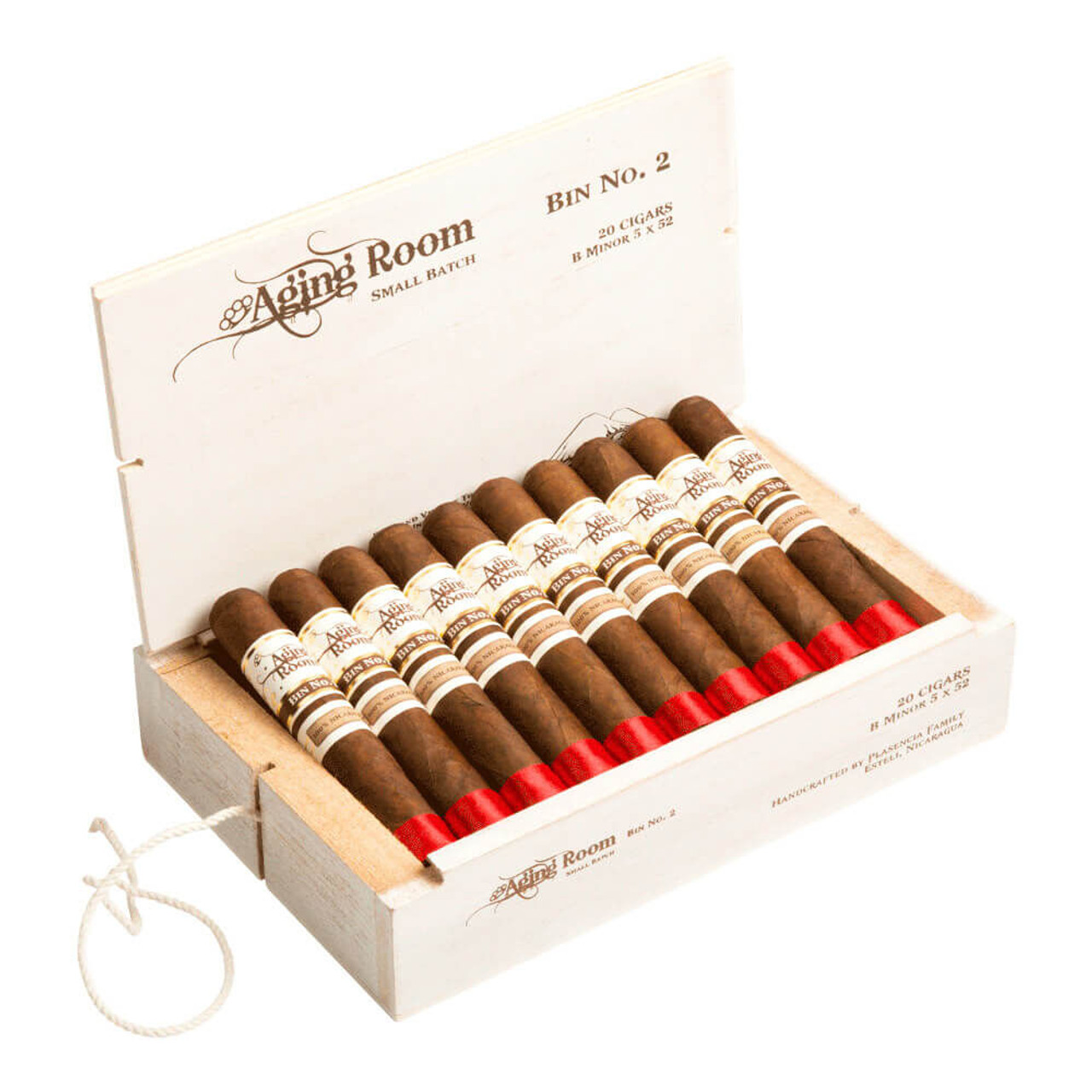 Aging Room Bin No. 2 B Minor Cigars - 5.0 x 52 (Box of 20)