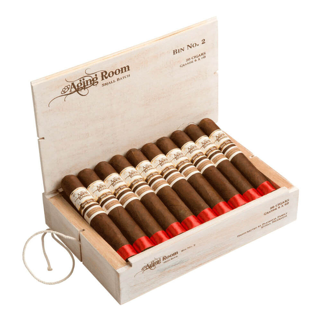 Aging Room Bin No. 2 Grande Cigars - 6.0 x 60 (Box of 20)