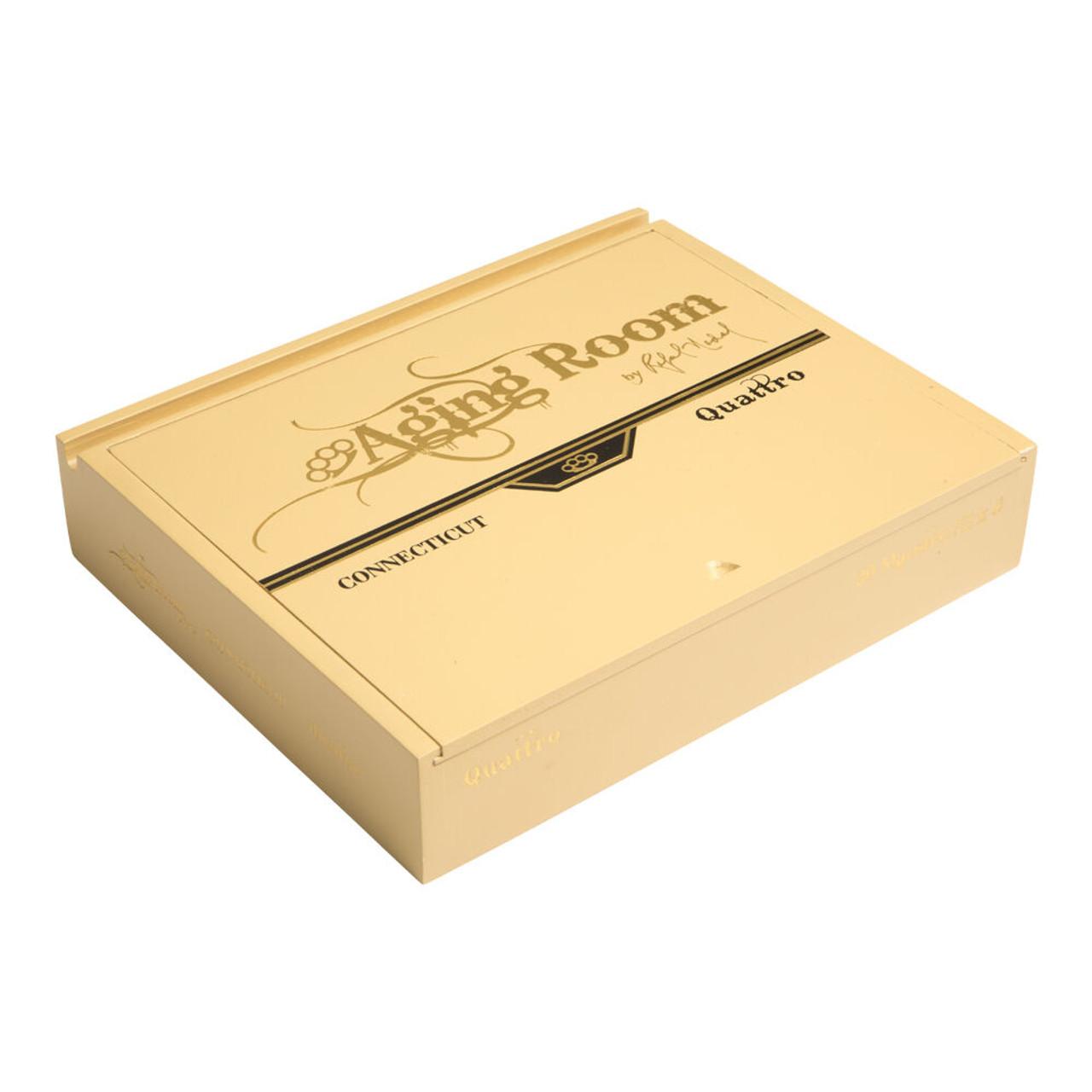 Aging Room Quattro Connecticut Maestro Belicoso Cigars - 6.0 x 52 (Box of 20)
