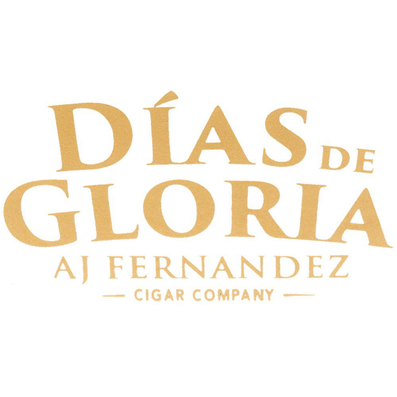 AJ Fernandez Dias de Gloria Gordo Cigars - 6.0 x 60 (Box of 20)