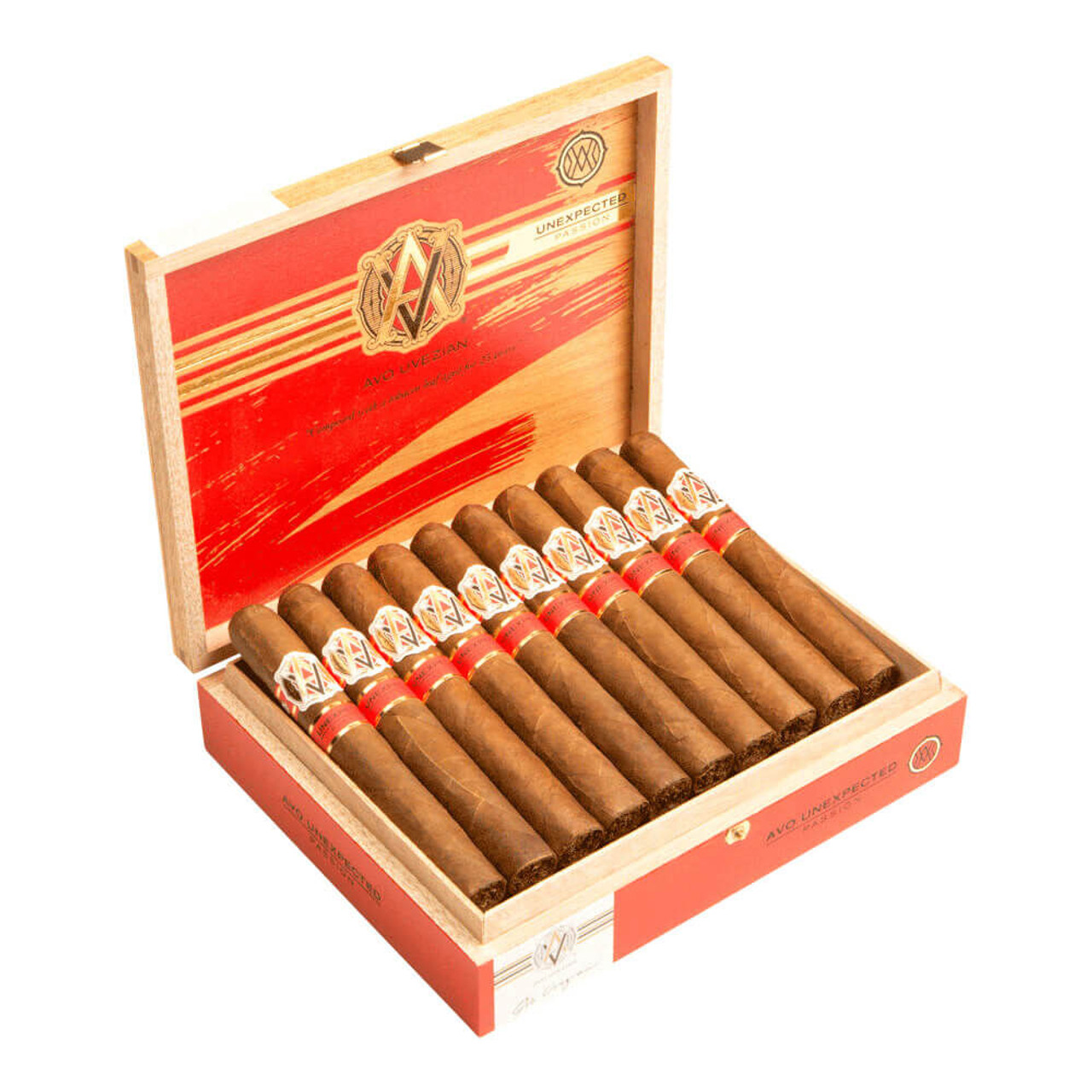 AVO Unexpected Series Passion Cigars - 6.0 x 50 (Box of 20)
