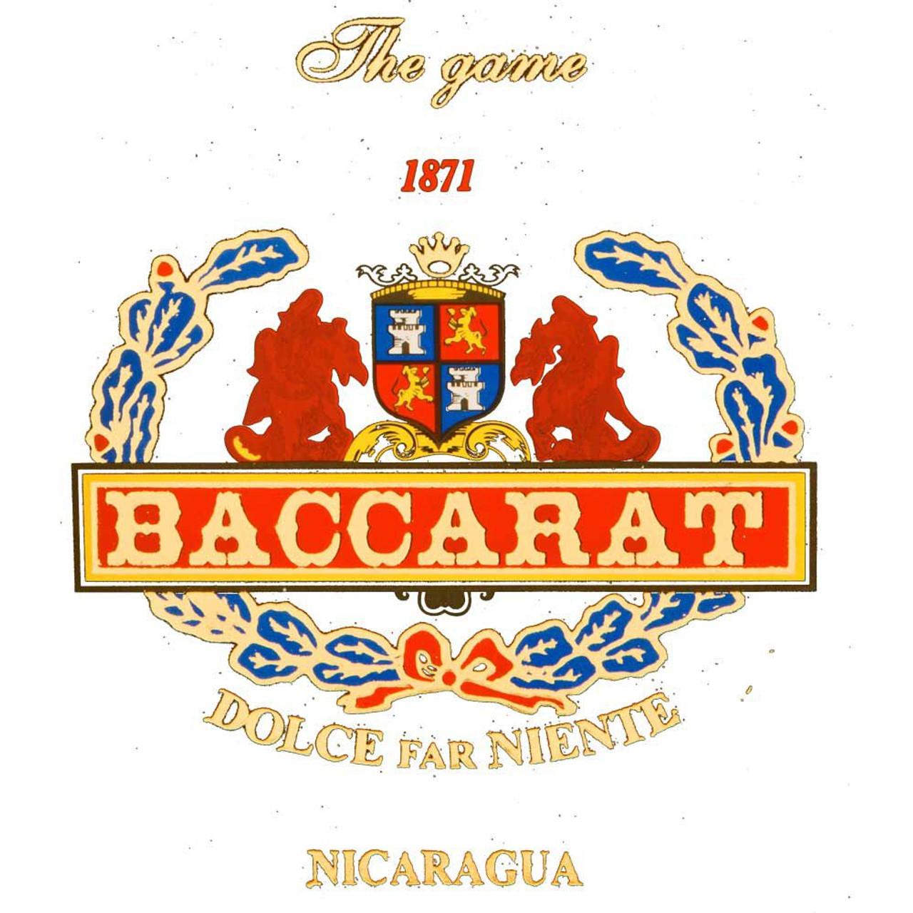 Baccarat Nicaragua Rothschild Cigars - 5.0 x 50 (Box of 25)