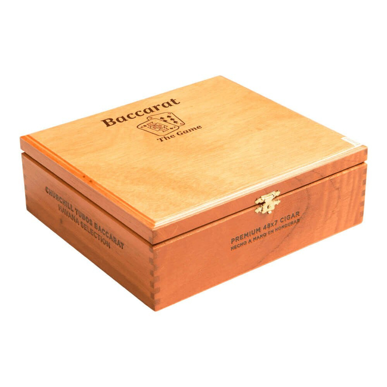 Baccarat Rothschild Tubo Cigars - 5.0 x 50 (Box of 25)
