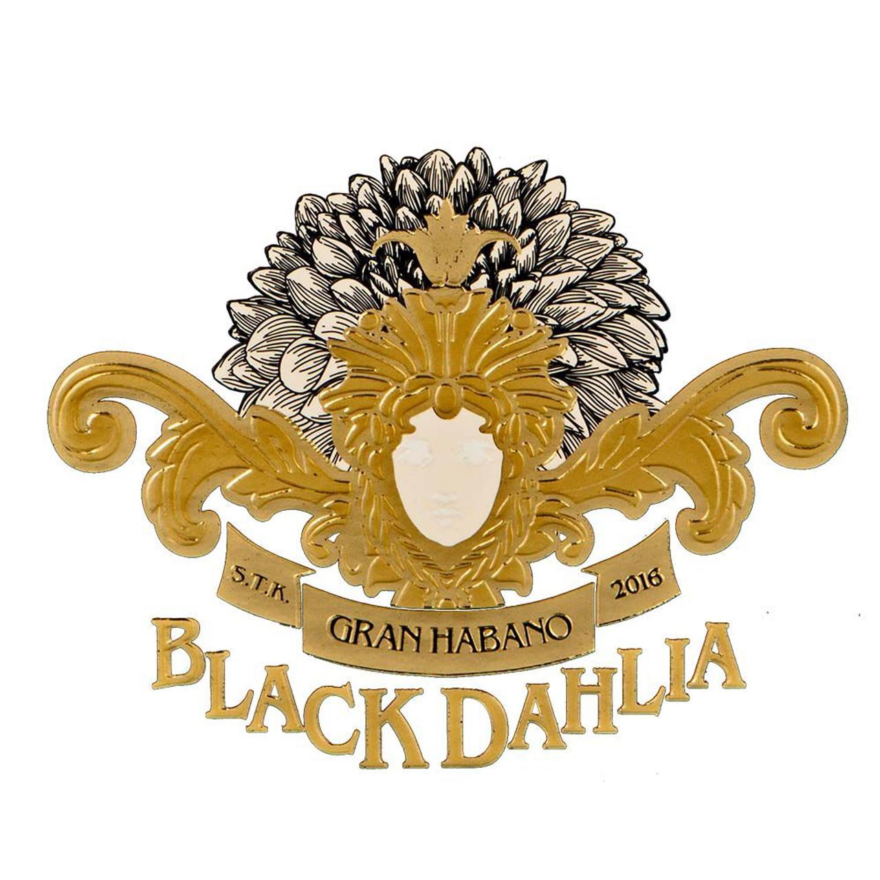 Black Dahlia by George Rico Corona Gorda Cigars - 5.63 x 46 (Box of 20)