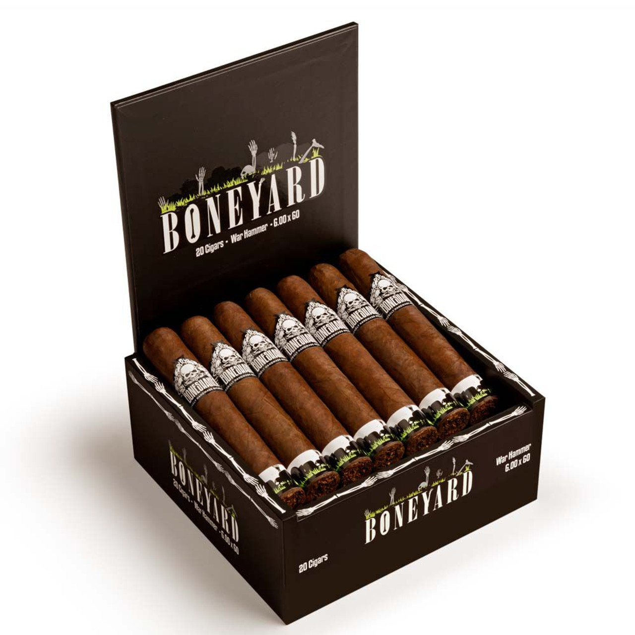 Boneshaker Boneyard Mace Cigars - 5.0 x 52 (Box of 20)