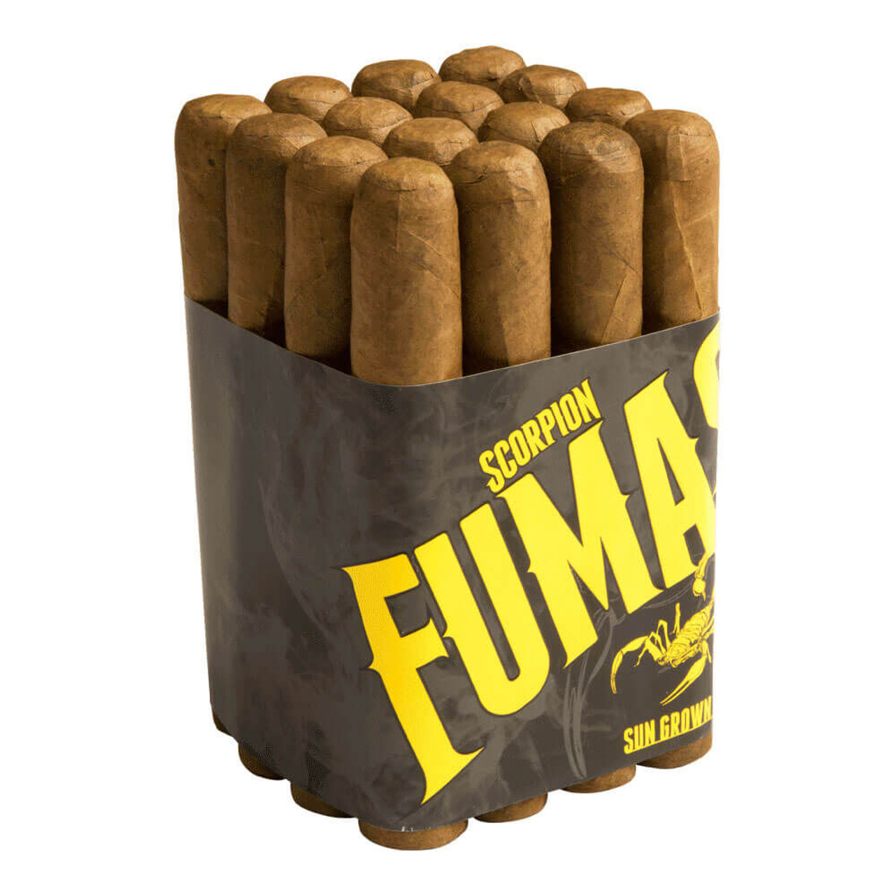 Camacho Scorpion Fumas Sungrown Gordo Cigars - 6.0 x 60 (Bundle of 16)