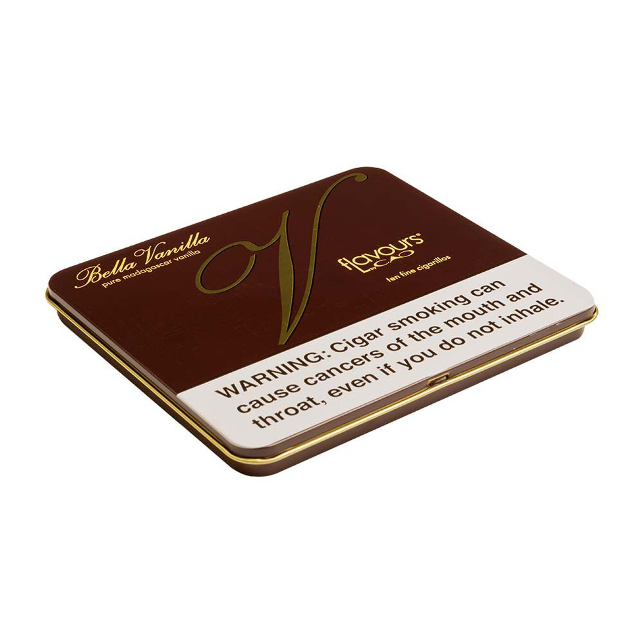 CAO Flavours Bella Vanilla Cigarillos Cigars - 4.0 x 30 (5 Tins of 10 (50 total))