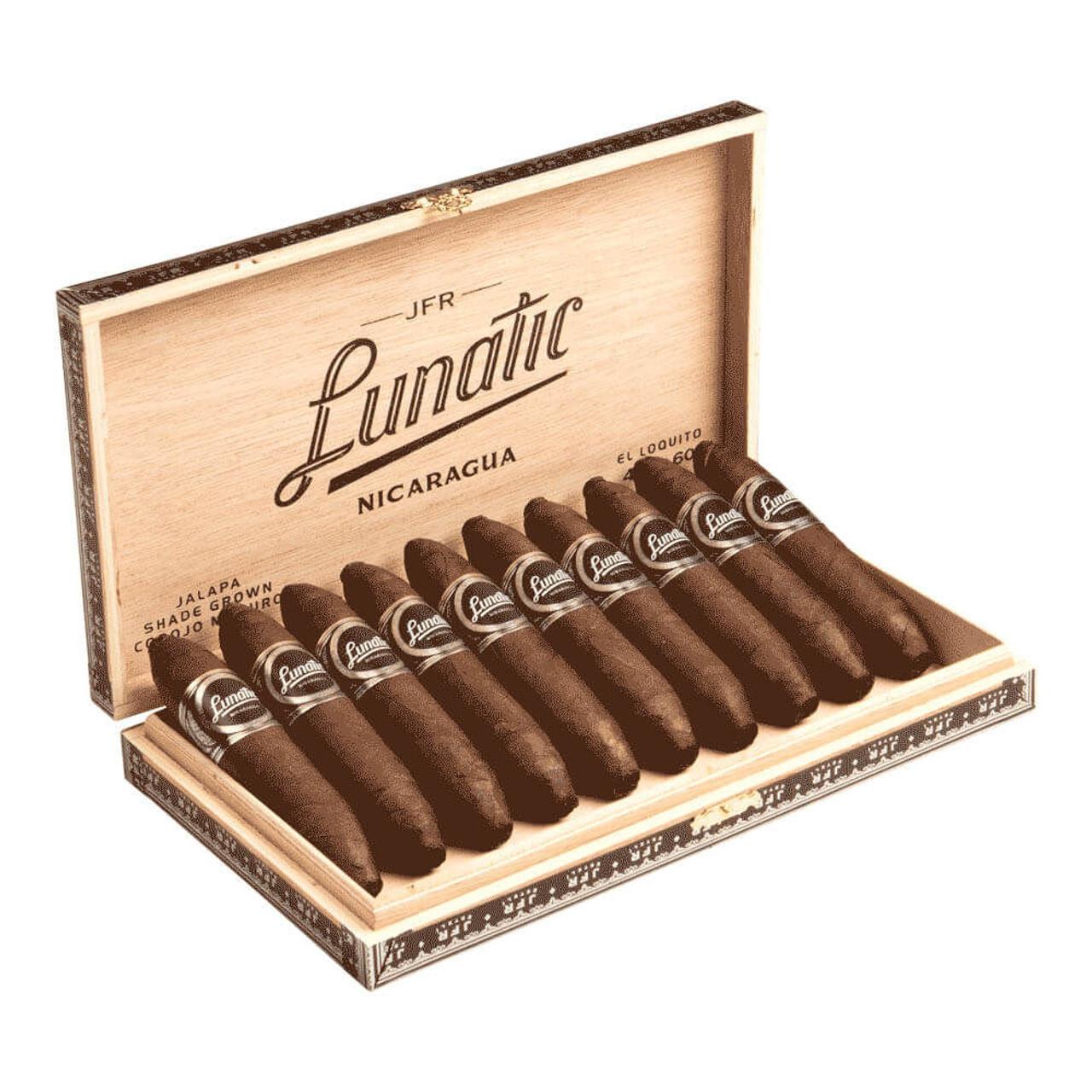 Casa Fernandez JFR Lunatic Loco Maduro El Loquito Cigars - 4.75 x 60 (Box of 10)