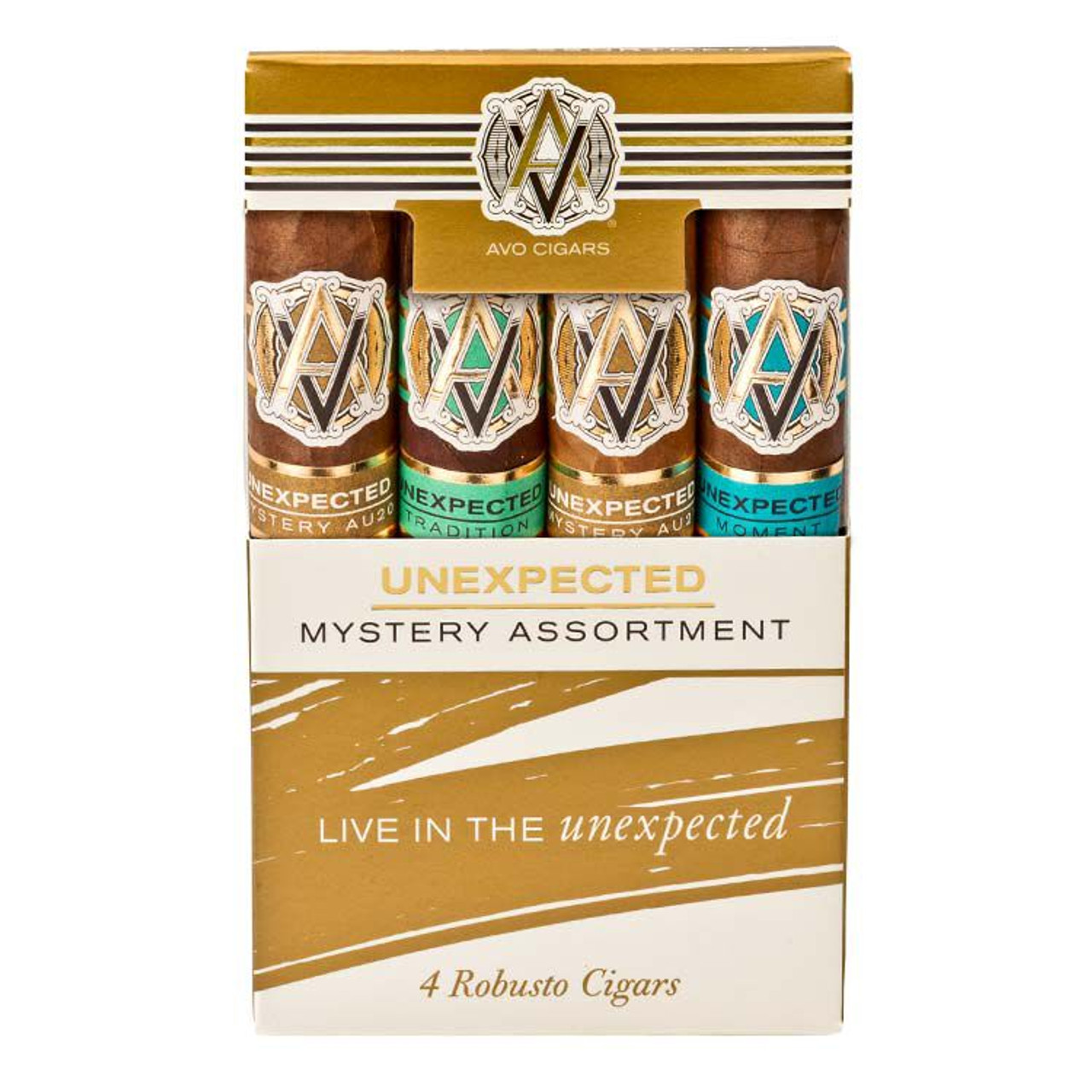Cigar Samplers Avo Unexpected Mystery 4-Pack Cigars