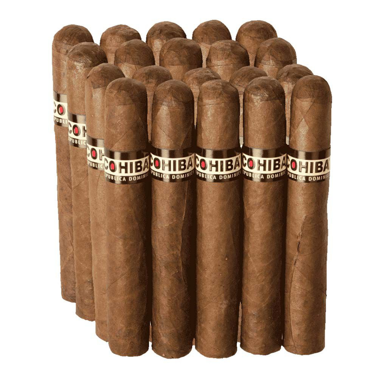 Cohiba Dominican Robusto Cigars - 5.0 x 49 (Pack of 10)