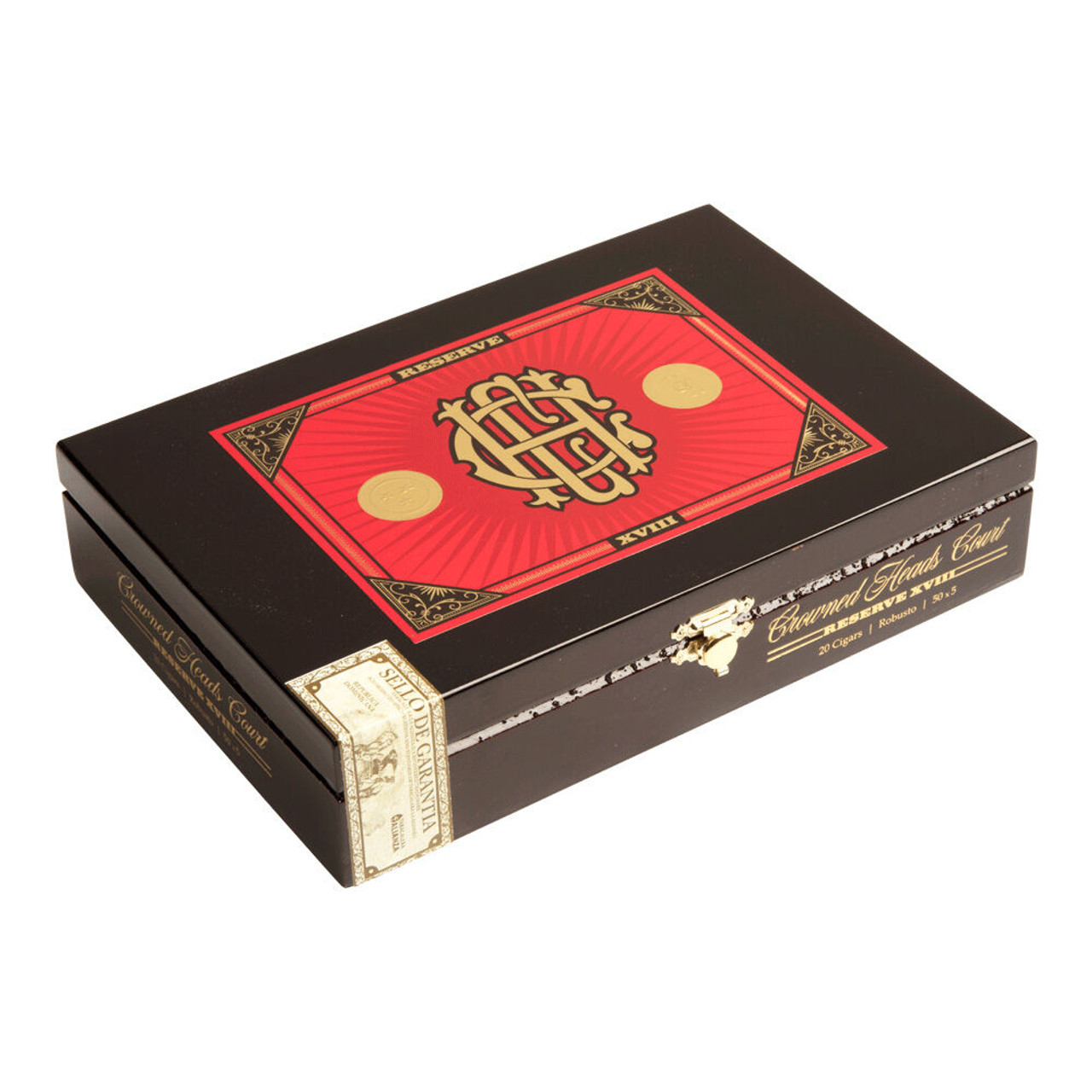Crowned Heads CHC Reserve XVIII Robusto Cigars - 5.0 x 50 (Box of 20)