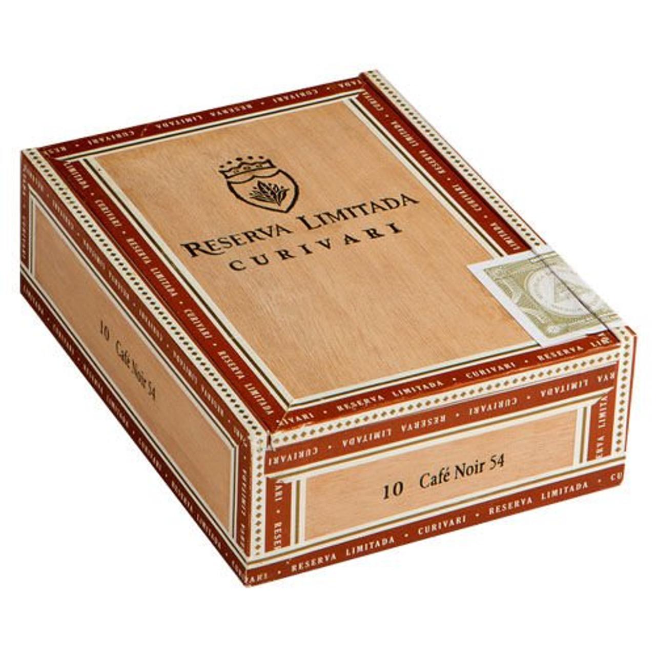 Curivari Reserva Limitada Cafe Petit Corona Cigars - 4.5 x 42 (Box of 10)