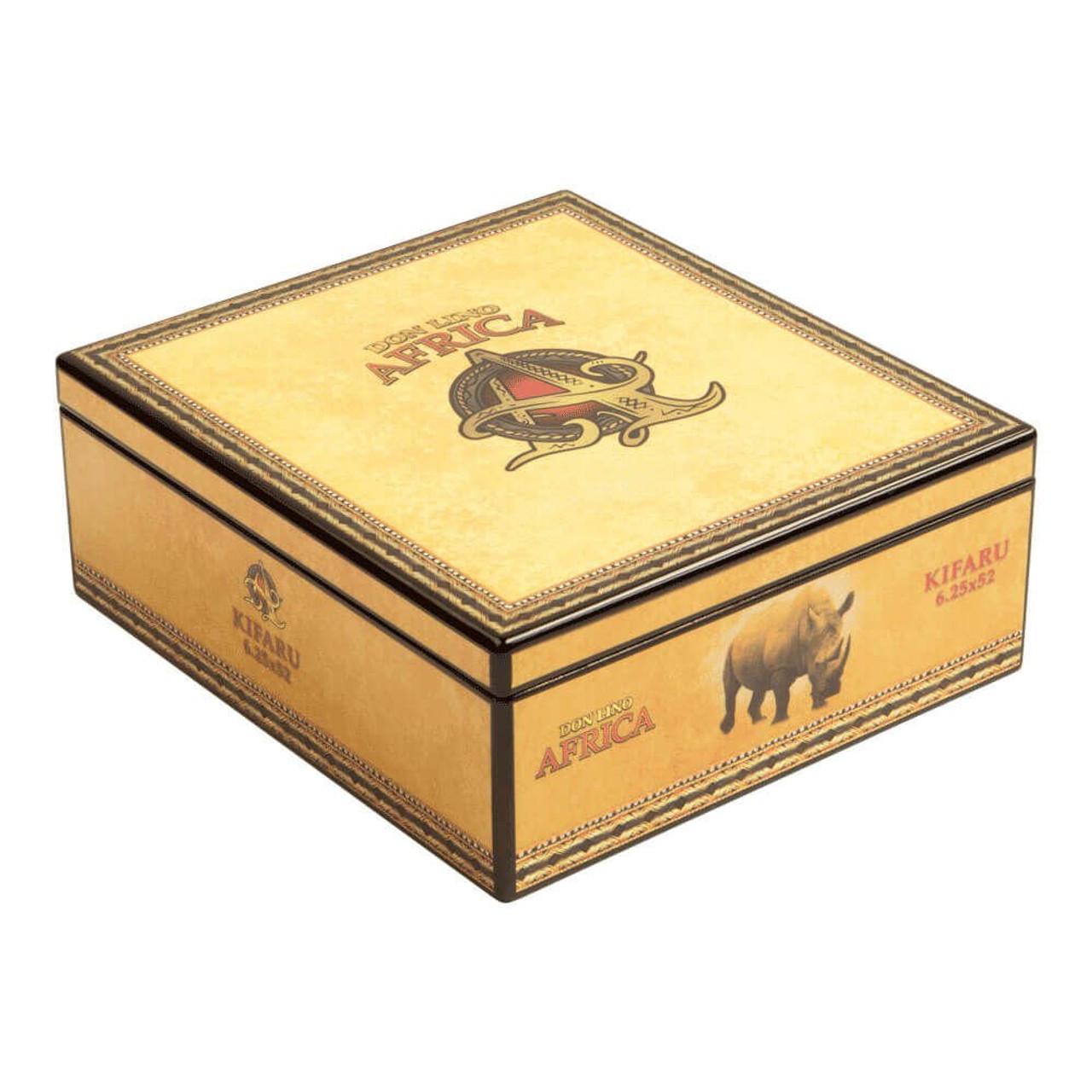 Don Lino Africa Robusto Duma Cigars - 5.0 x 50 (Box of 20)