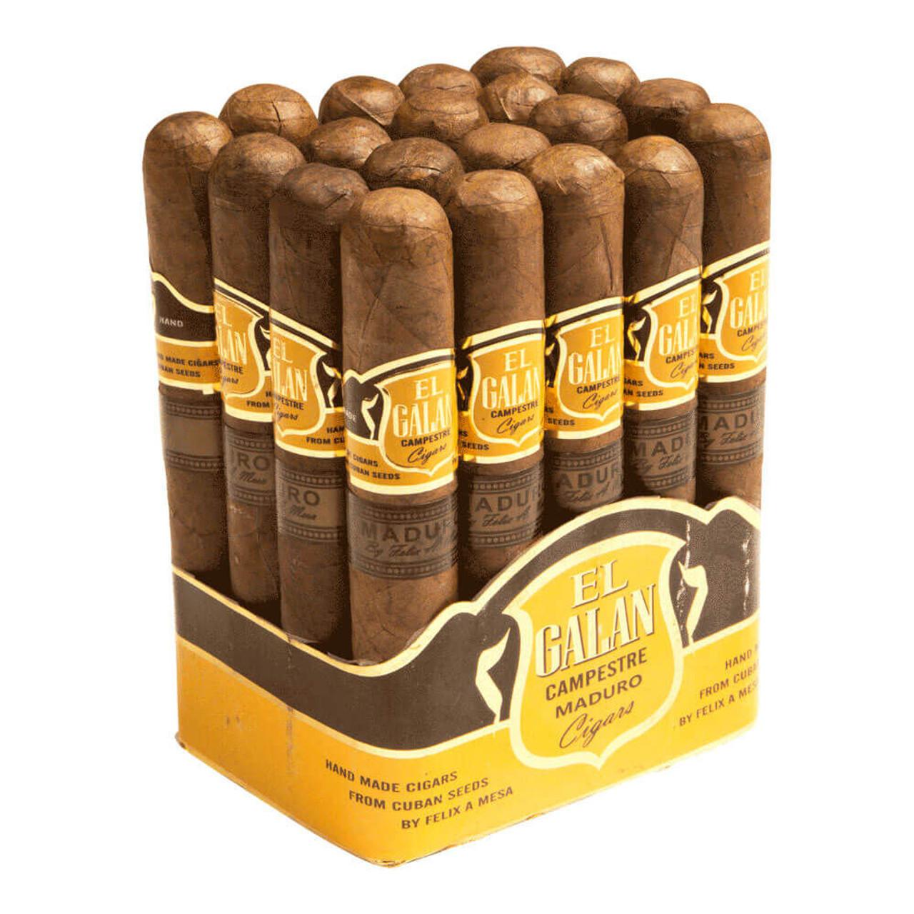 El Galan Campestre Churchill Maduro Cigars - 7.0 x 48 (Bundle of 20)
