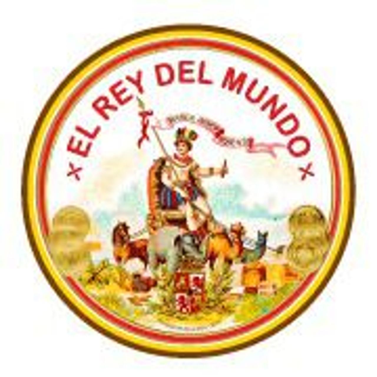 El Rey del Mundo Robusto en Vidrio Cigars - 5.62 x 50 (Box of 20 Glass Tubes)
