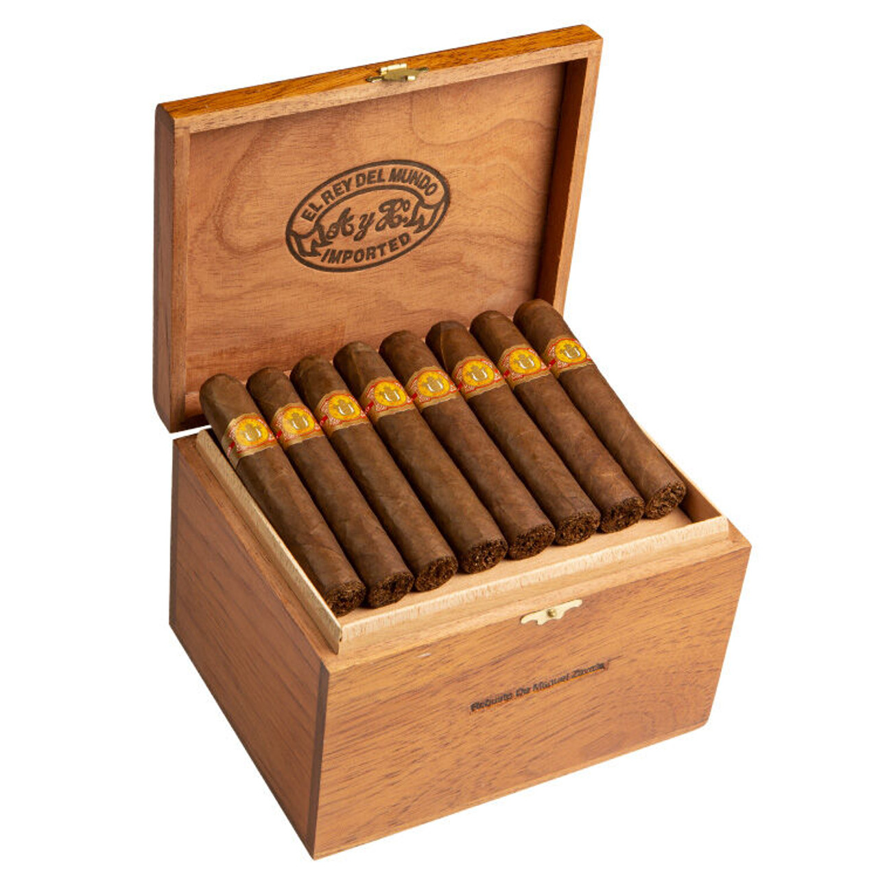 El Rey del Mundo Robusto Zavala Cigars - 5.0 x 54 (Box of 40)
