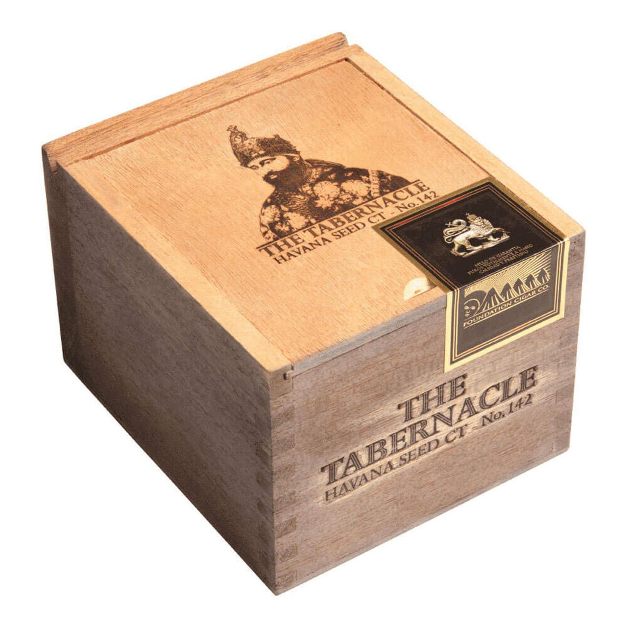Foundation The Tabernacle No. 142 Havana Seed CT Robusto Cigars - 5.0 x 50 (Box of 24)