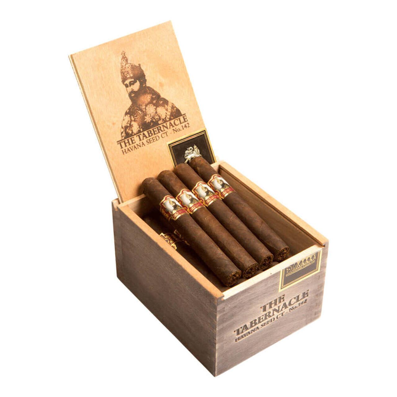 Foundation The Tabernacle No. 142 Havana Seed CT Toro Cigars - 6.0 x 52 (Box of 24)