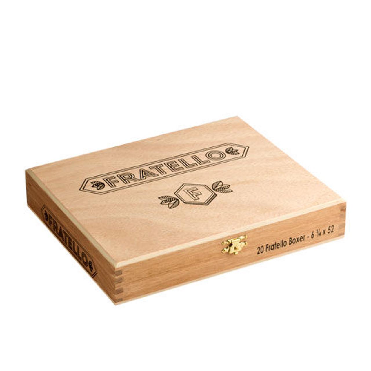 Fratello Boxer Cigars - 6.25 x 52 (Box of 20)