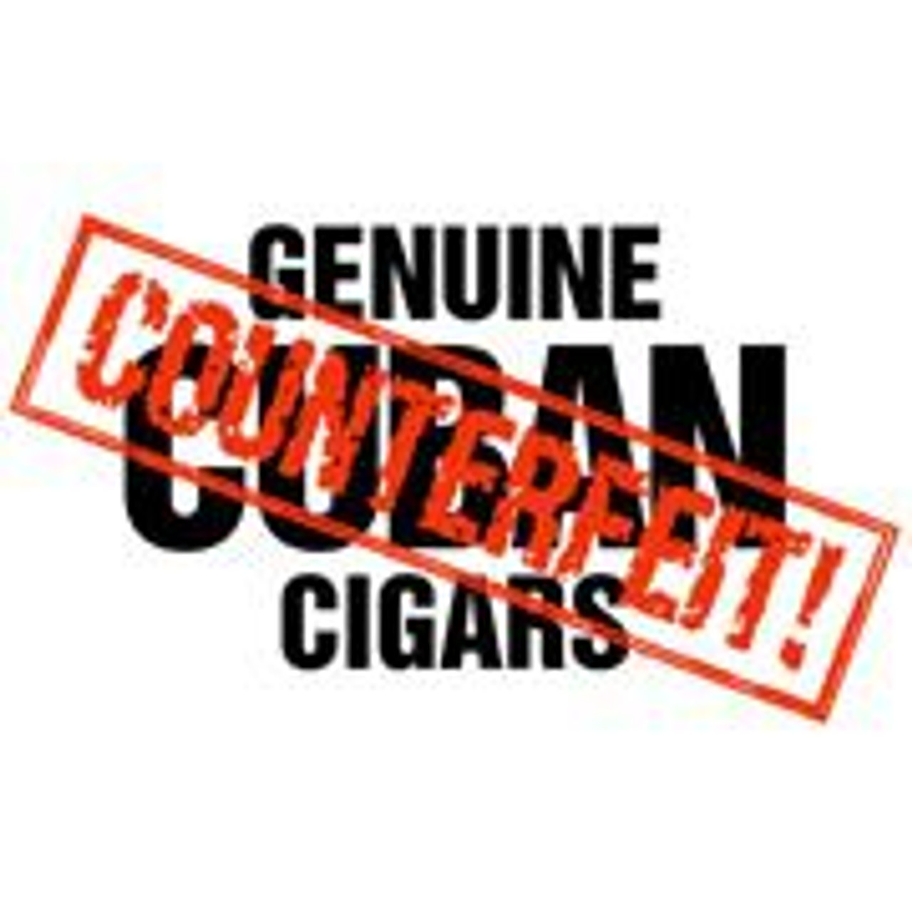 Genuine Counterfeit Cuban Robusto Cigars - 5.0 x 50 (Cedar Chest of 25)