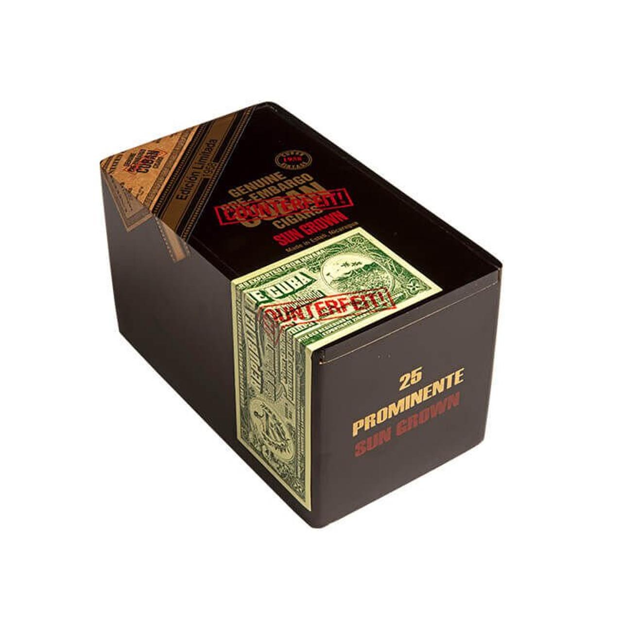 Genuine Pre-Embargo C.C. Sun Grown 1958 Sesenta Cigars - 6.0 x 60 (Box of 25)