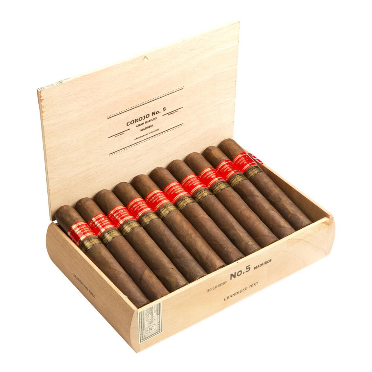 Gran Habano #5 Maduro Triumph Cigars - 5.0 x 52 (Box of 20)