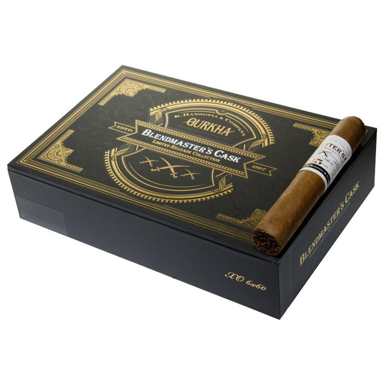 Gurkha Blendmaster's Cask Ambassador Cigars - 7.0 x 55 (Box of 20)