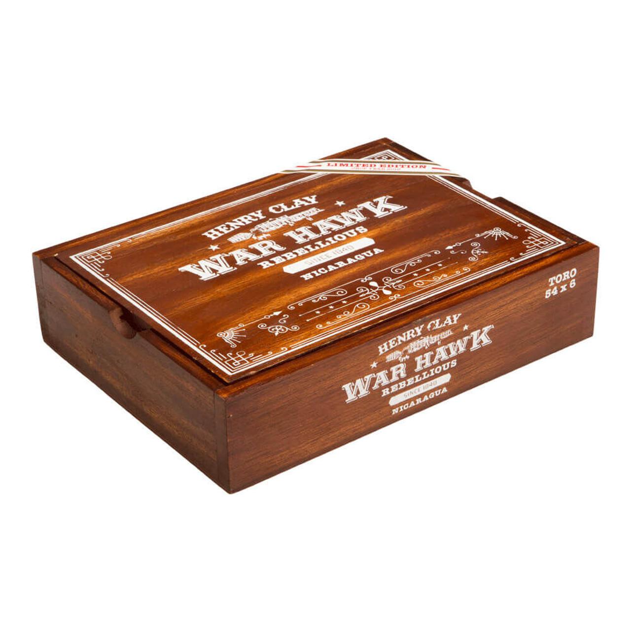Henry Clay War Hawk Rebellious Toro Cigars - 6.0 x 54 (Box of 20)
