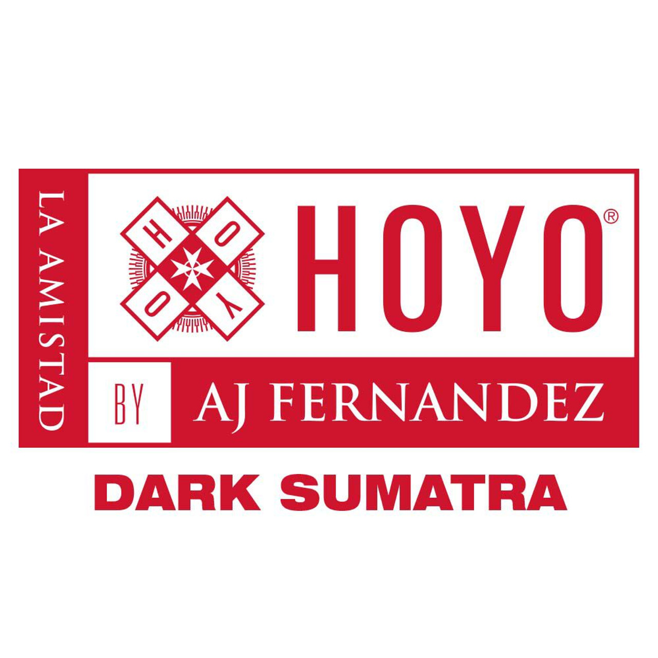 Hoyo La Amistad Dark Sumatra Media Noche Cigars - 5.75 x 54 (Box of 25)