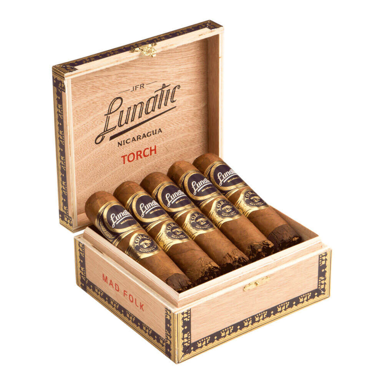 JFR Lunatic Torch Mad Folk Cigars - 4.75 x 70 (Box of 10)