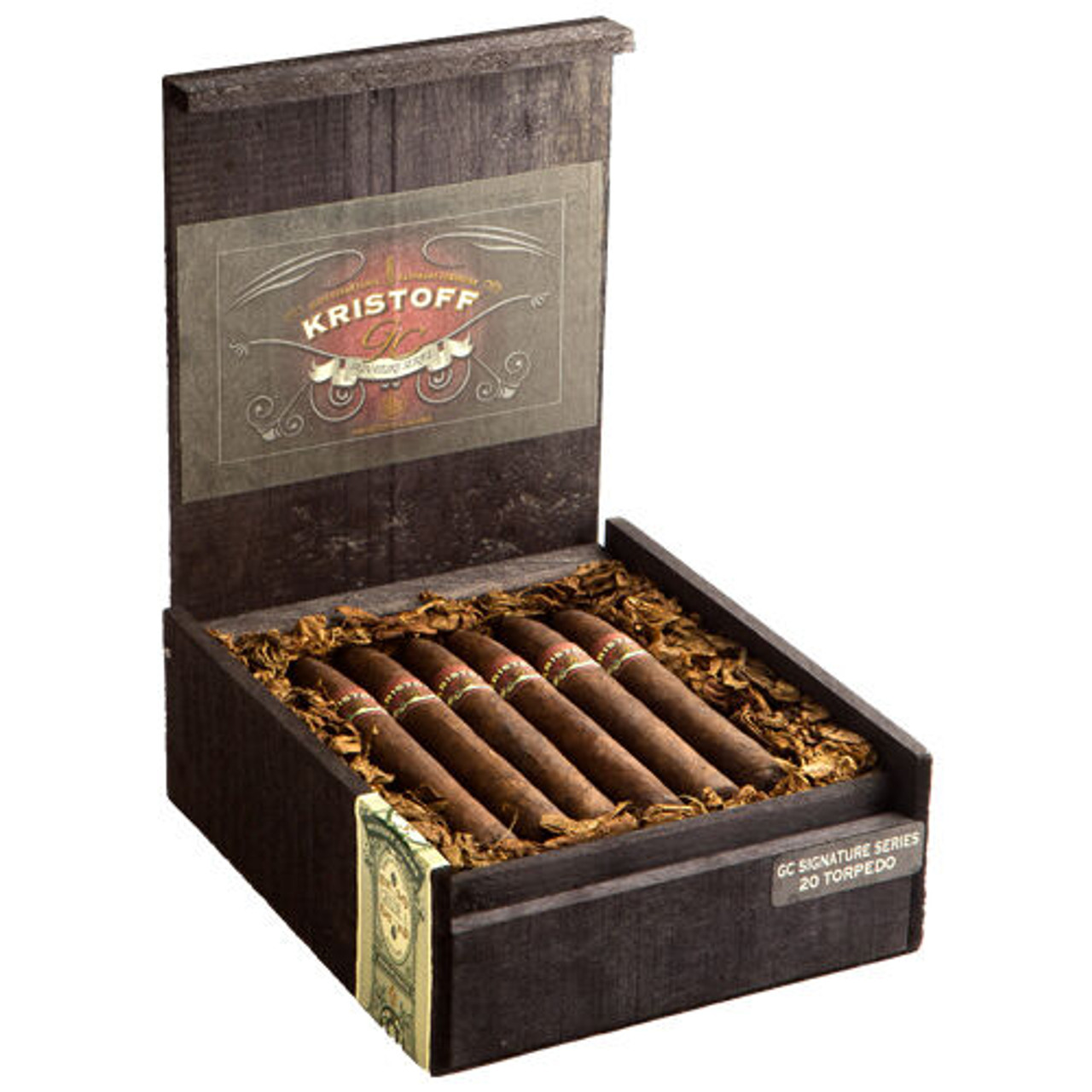 Kristoff GC Signature Series Churchill Cigars - 7.0 x 50 (Box of 20)