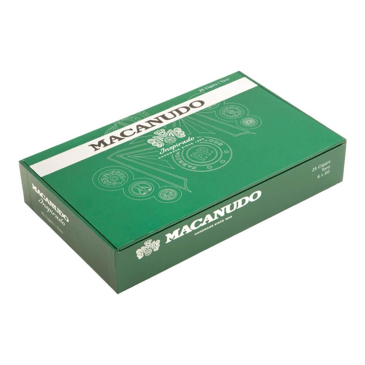 Macanudo Inspirado Green Robusto Cigars - 5.0 x 52 (Box of 25)