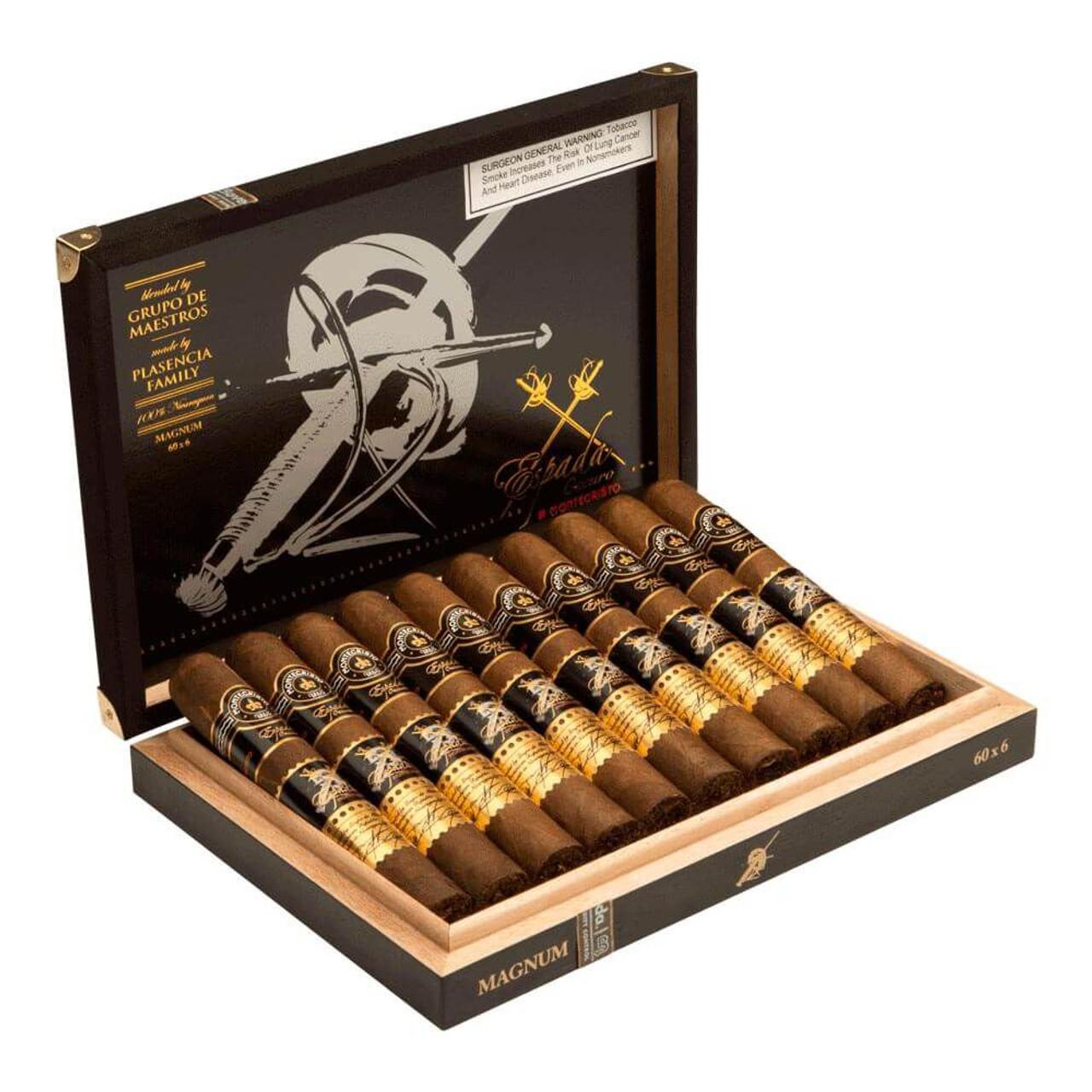 Montecristo Espada Oscuro Magnum Cigars - 6.0 x 60 (Box of 10)