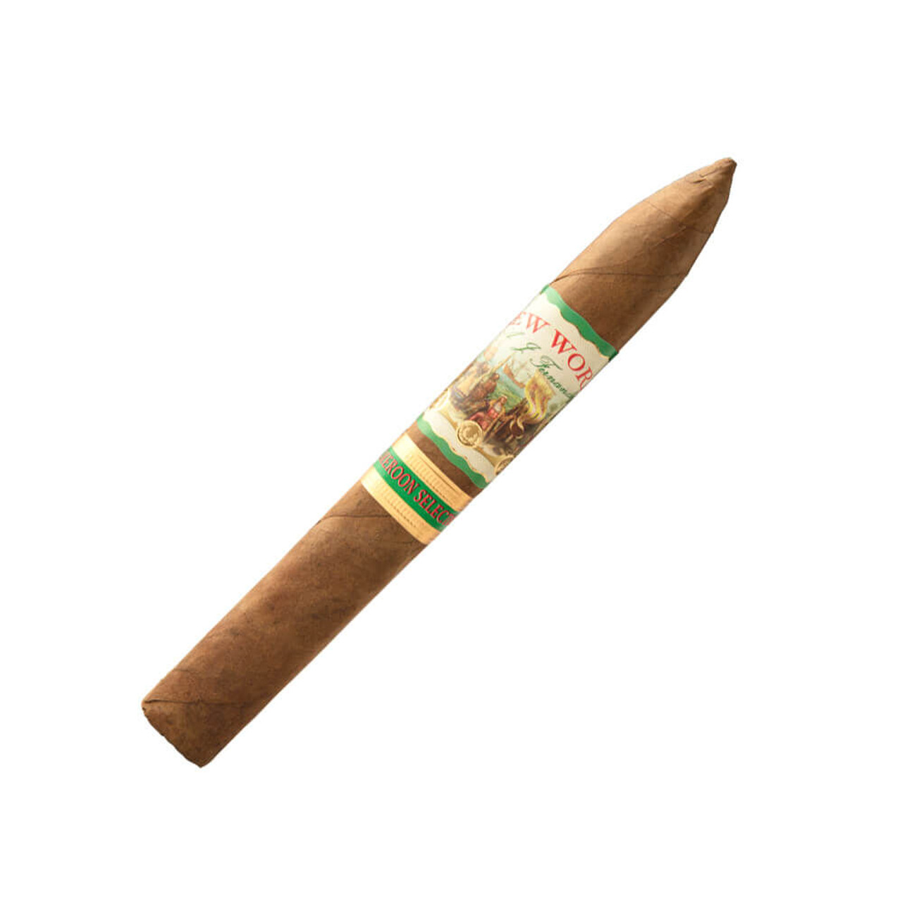 New World Cameroon by AJ Fernandez Torpedo Cigars - 6.5 x 52 (Box of 20)