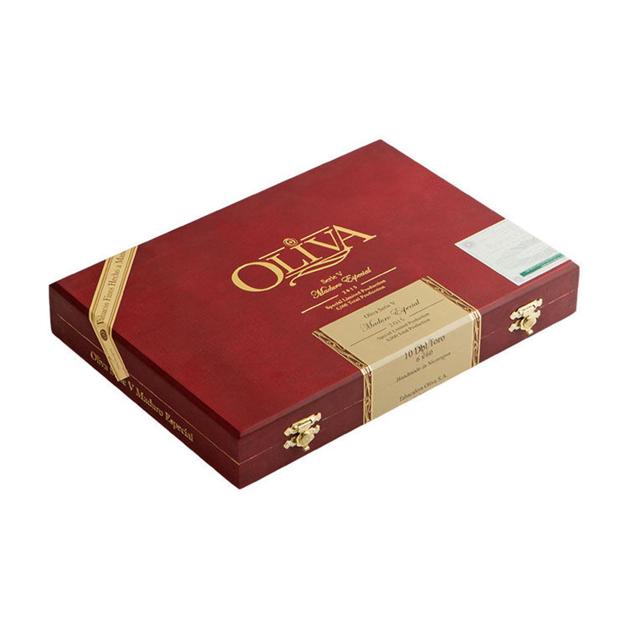 Oliva Serie V Maduro Especial Double Robusto Cigars - 5.0 x 54 (Box of 10)