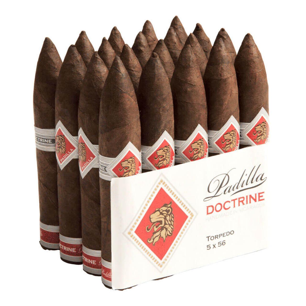 Padilla Doctrine Torpedo Cigars - 5.0 x 56 (Bundle of 20)