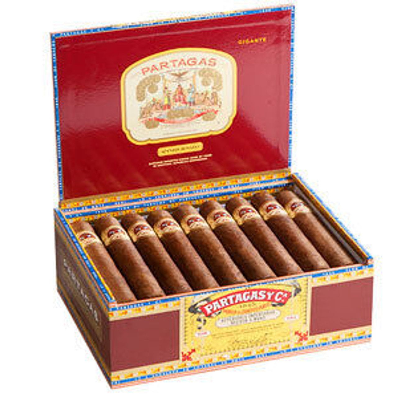 Partagas Spanish Rosado Mitico Cigars - 7.0 x 49 (Box of 25)