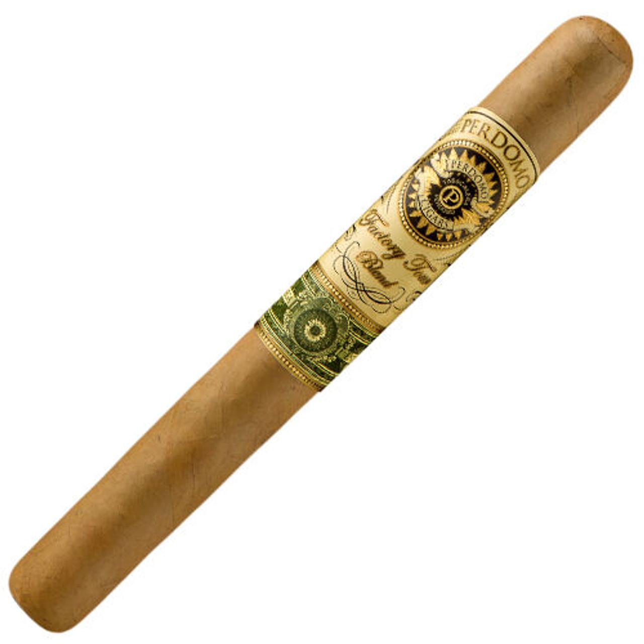 Perdomo Factory Tour Blend Connecticut Churchill Cigars - 7.0 x 52 (Box of 24)