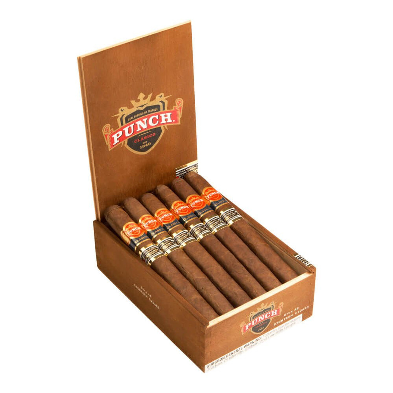 Punch Heritage Reserve Gigante Cigars - 6.0 x 60 (Box of 18)