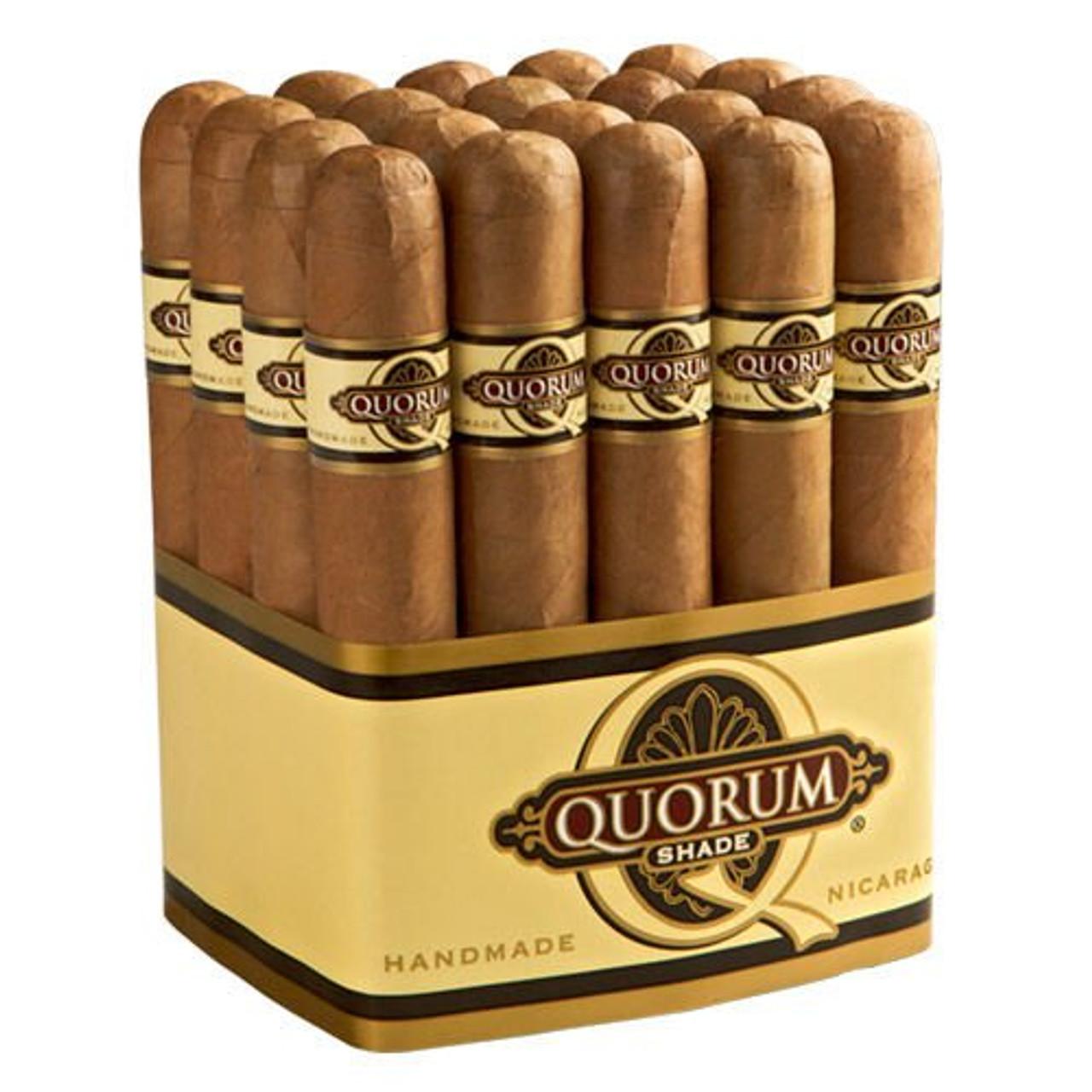 Quorum Shade Torpedo Cigars - 6.0 x 50 (Bundle of 20)