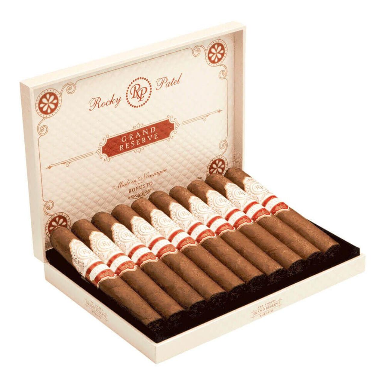 Rocky Patel Grand Reserve Robusto Cigars - 5.5 x 50 (Box of 10)