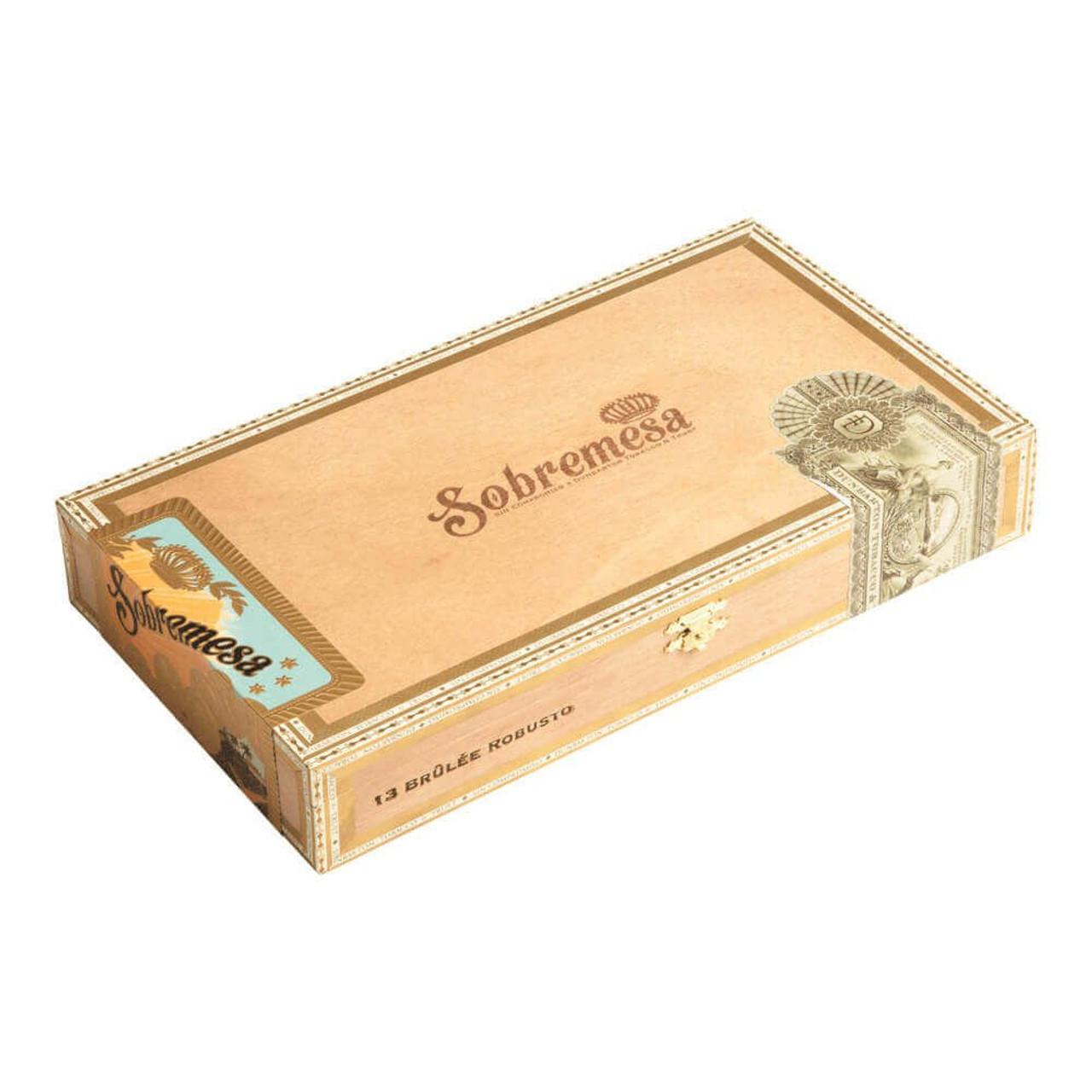 Sobremesa Brulee Toro 2019 Cigars - 6.0 x 52 (Box of 13)