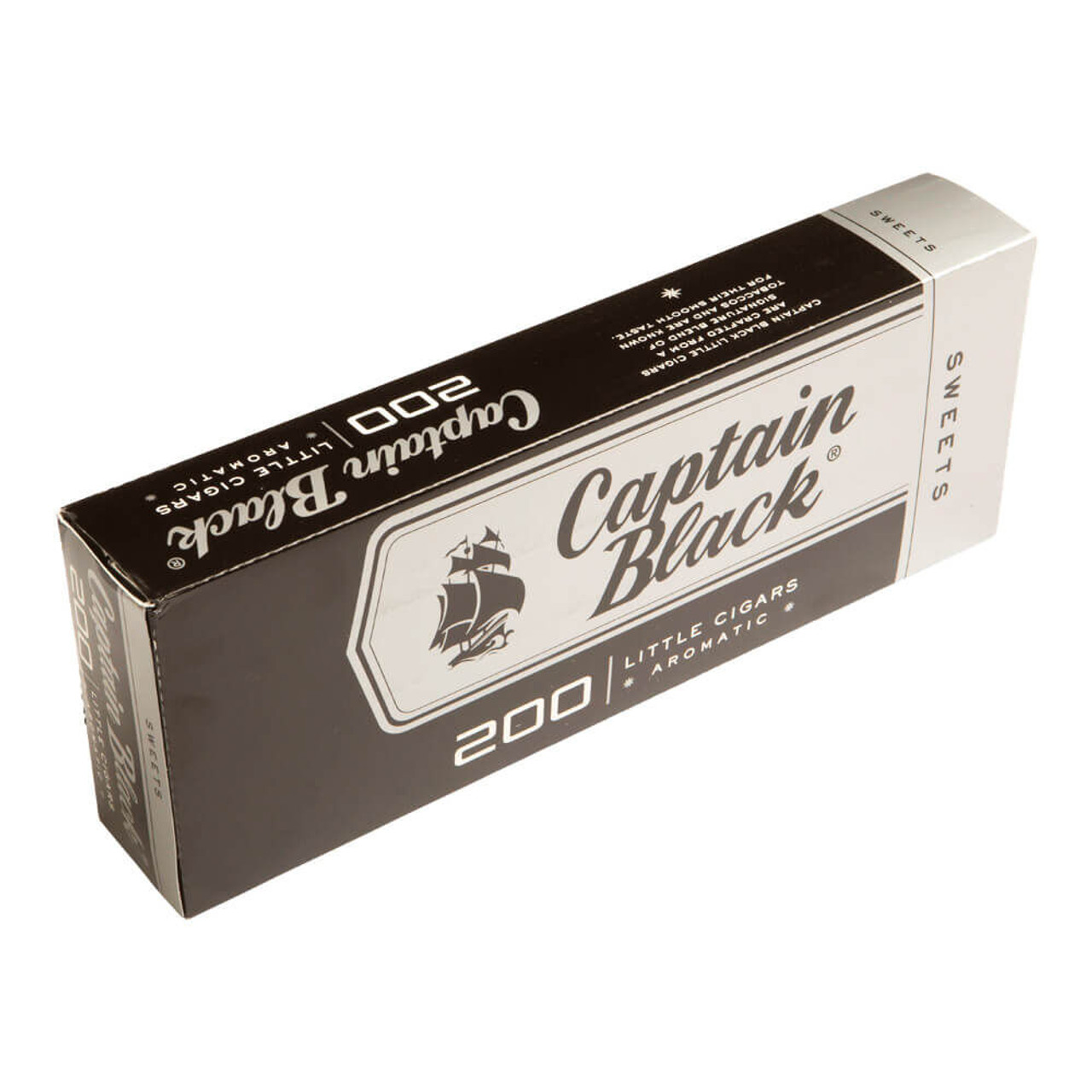 Captain Black Little Cigars Sweets Cigars - 3.75 x 20 (10 Packs of 20 (200 total))