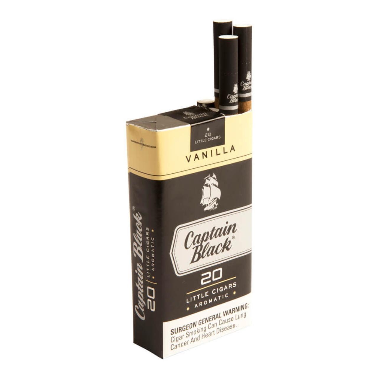 Captain Black Little Cigars Vanilla Cigars - 3.75 x 20 (10 Packs of 20 (200 total))