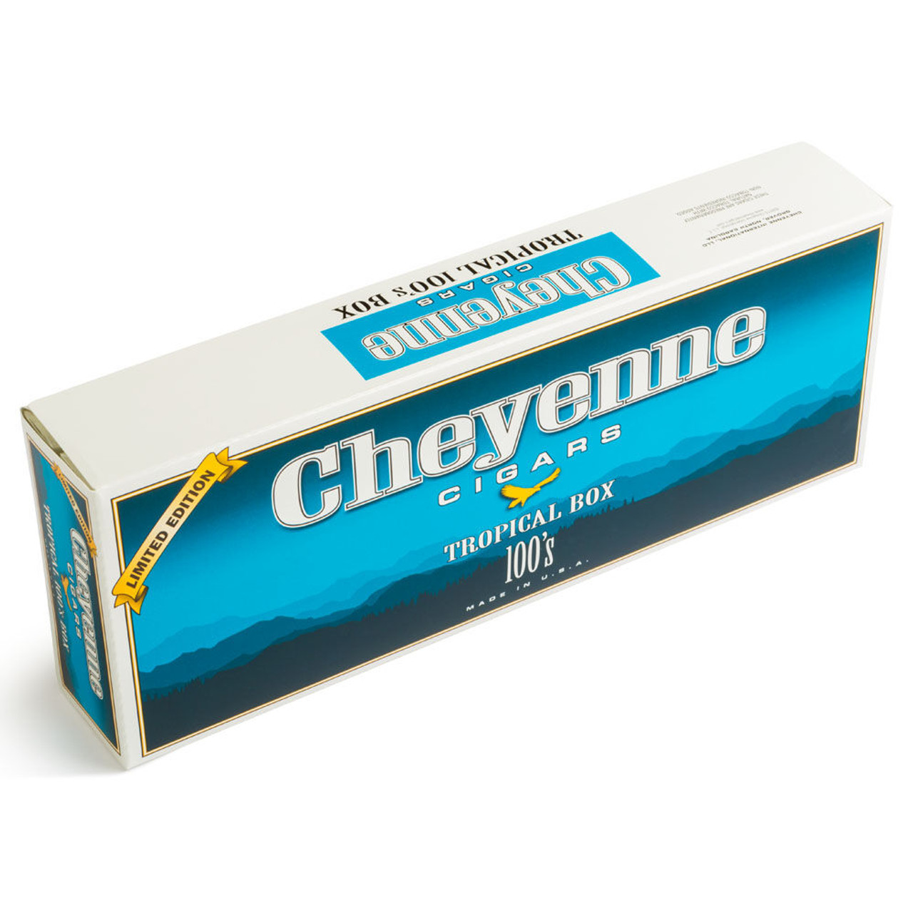Cheyenne Filtered Cigars Tropical Cigars - 4.0 x 20 (10 Packs of 20 (200 total))